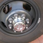 Before the Hubcap Install